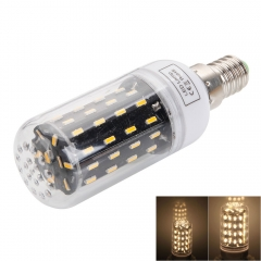 Powerful Bright E14 7W 56LED Corn Bulb 4014 SMD 220-240V Light Lamp as picture one size 7w