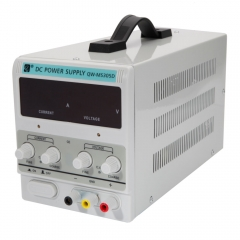 QW-MS305D DC Power Supply 30V 5A EU 220V Precision Variable Adjustable Lab Grade White one size