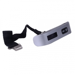 50kg Portable Digital Luggage Scale Electronic LCD Display Travel Hanging Weight as picture show one size