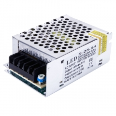 DC 24V 1A 25W Universal Regulated Switching Power Supply for LED Strip CCTV