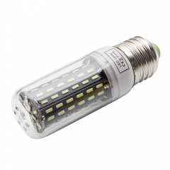 E27 9W 6000-6500K White Light 96-SMD4014 LED Corn Lamp Bulb 220-240V as picture one size 9w