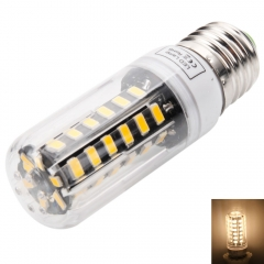 E27 5W 42-LED 5733SMD 3000-3500K Warm White LED Corn Lamp with Lampshade 220-240V as picture one size 5w