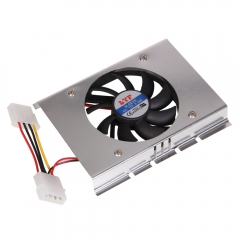 """3.5"""" HDD Hard Disk Drive Cooler Cooling 12VDC Fan Heatsink with 4 Screws as picture one size"""