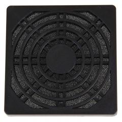Dustproof Dust Filter for PC Computer Fan S 80mm black