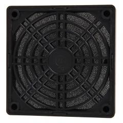 2 x New 80mm Black Dustproof Dust Filter for PC Fan S black