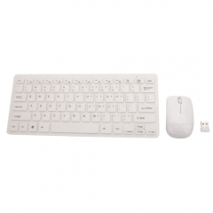 New USB Cordless Wireless Mouse Mice and Keyboard Combo for PC Laptop MAC White one size