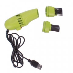 New Mini USB Vacuum Keyboard Cleaner Dust Collector Laptop Computer High Quality Green