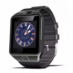 DZ09 Bluetooth Smart Wrist Sport Watch Phone Mate GSM SIM for IOS Anroid iPhone black one size