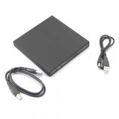 New External USB LightScribe DVD + / - RW DVD-ROM CD-RW  DVD-RW Burner Drive black