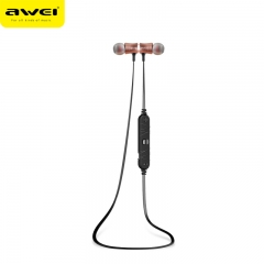 Wireless Bluetooth 4.1 Awei A921BL Sport Stereo Headset Noise Earbuds Headphones Golden