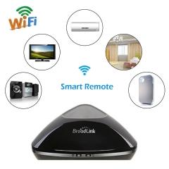 Broadlink RM Pro Home Automation Appliance Remote Controller WiFi+IR+RF US/EU/UK black nomal
