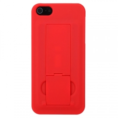 Hard Back Cover Case with Stand for iPhone 5 red iphone 5