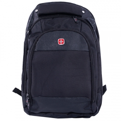 Swissgear Laptop Notebook Shoulder Bag Rucksack Backpack Travel School Bag black one size