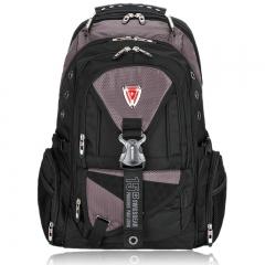 "Men's Women 15.6"" Laptop Notebook Backpack School Travel Business Bag SwissGear Gray one size"