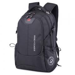 "SwissGear Women 17"" Laptop Notebook Bag Men Travel Outdoor Backpack School Rucksack black one size"