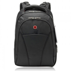 """Business 17"""" Laptop Notebook Backpack Outdoor Travel Campus School Bag Swissgear black one size"""