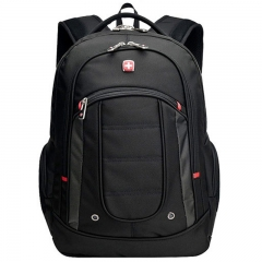 "Swissgear 15.6"" Laptop Notebook Satchel Shoulder Bag Rucksack Backpack Bookbag black one size"