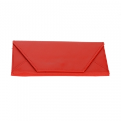 Fashion Envelope Women Clutch Credit ID Card Holder Wallet Coin Purse red one size
