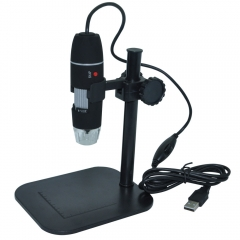 500X 2.0MP 8 LED Zoom Digital USB Microscope Magnifier Endoscope Camera Video black one size