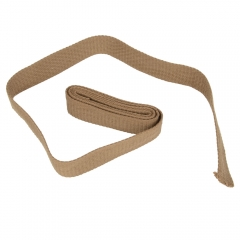 2Yard Sewing Cotton Canvas Webbing Tape Bag Strap Belt Sling 32mm Width Brown one size