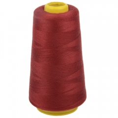3000Yard Terylene Polyester Spool Overlock Machine Sewing Thread Quilting Sewing red one size