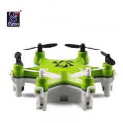 FY805 2.4Ghz 4CH 6-Axis Gyro Mini Nano RC Drone Hexacopter Aircraft green FY805