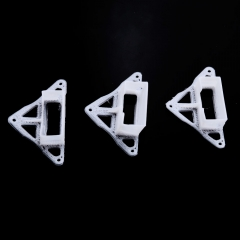 3pcs TPU Camera Mount 0°/10°/20° for fx798t Inductrix H36 E010 Tiny Whoop white one size