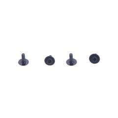 New BoldClash 4pcs Screws set ForQUEEN SPR F3 Spare Part RC Drone black one size