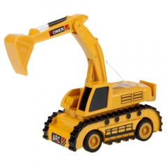 5010 Mini Radio Control Excavators Remote Control RC Car for Chirldrens Gift as picture one size
