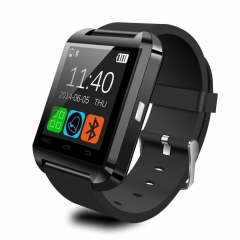 U8 Bluetooth Smartwatch Passometer Monitor Answer and Dial Phone Watch black one