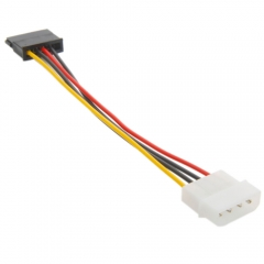 New IDE/Molex To Serial ATA SATA 4 PIN Power Adapter cable Cord Durable