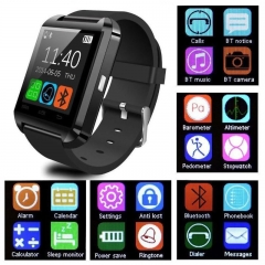 U8 Bluetooth Android Digital Smart Watch Call Message Reminder Sleep Monitor