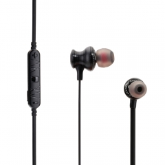 A980BL Noise Isolation Wireless Bluetooth 4.1 Earphone with Handsfree Songs black