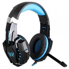 KOTION EACH G9000 3.5mm Stereo Gaming Earphone Headphones Headset for PC Blue