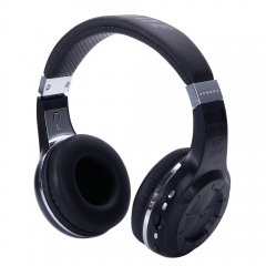 Bluedio H+ plus Bluetooth 4.1 Wireless Headset Turbine Hurricane Headphone Black black