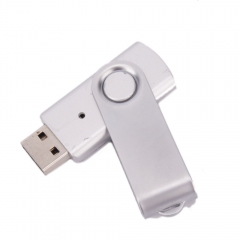 Brand New 1GB USB 2.0 Mobile Flash Drive Swivel Design Support Hi-Speed Silver silver one size 1gb