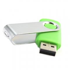 16GB USB2.0 Flash Memory Drive Thumb Swivel Design Green for Computer Desktop PC green one size 16gb