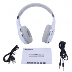 New Bluedio Turbine Hurricane H Bluetooth 4.1 Wireless Stereo Headsets Headphone white