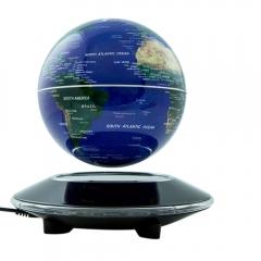"""6"""" Maglev Magnetic Levitating Floating World Map Globe Table Lamp Desktop"""