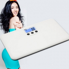 330lb/150kg Electronic Digital Personal Bathroom Body Weight Scale white nomal