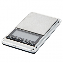 1000*0.1g Gram Mini LCD Digital Pocket Size Jewelry Gold Balance Weight Scale silver one size