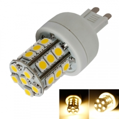 New G9 3W 27LED 5050SMD Corn Light Bulb Warm White 110V Home Lamp warm white one size 3w