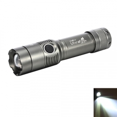 5000LM XML T6 LED Rechargeable Zoomable Flashlight Torch 18650 Battery + Charger gray one