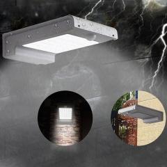 49-LED Solar Power Motion Sensor Garden Security Lamp Outdoor Waterproof Light white 1.5w