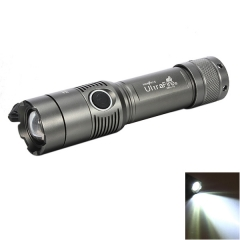 XM-L XML T6 5000LM Zoomable LED Rechargeable Flashlight Torch 18650 Light Lamp gray one