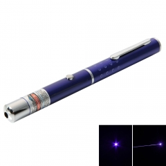 Powerful 1mW 405nm Blue&Purple Laser Beam Laser Pointer Pen Lazer Pen Blue AA purple 1w
