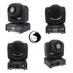 50W LED 8 Rotary Pattern Effect LED Stage Lighting Moving Head DJ Light DMX-512 rgb one size 50w