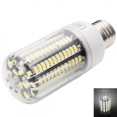 E27 136 LED Corn Bulb Light 5733SMD Cold White Lamp Black PCB AC110V white one size 12w