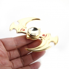 Cyclone Knife Aluminum EDC Focus Finger Spinner Hand Spinner Gadget golden