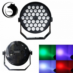LED RGB Single Self-propelled Master-slave Voice-activated Stage Lighting rgb one size 36w